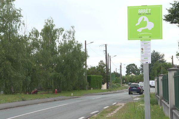 155 panneaux comme celui-ci ont été installés sur tout le territoire du PETR Forêt d'Orléans-Loire-Sologne.