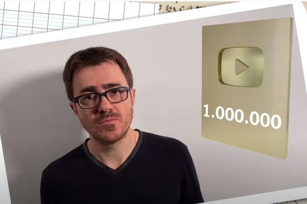 Yvan Monka remercie son million d'abonnés