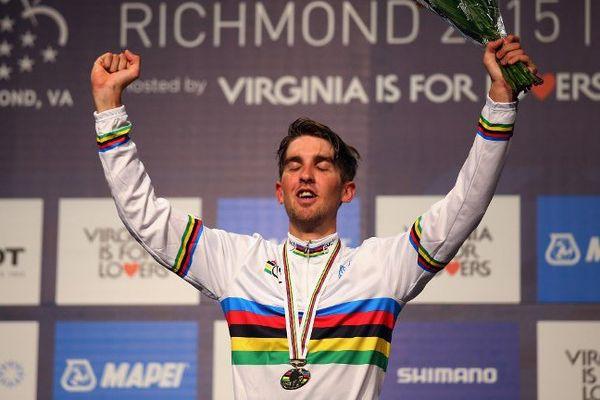 Kevin Ledanois sacré champion du monde espoirs en cyclisme sur route