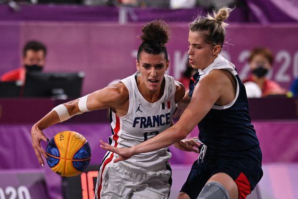Laëtitia Guapo, ici aux Jeux Olympiques de Tokyo.