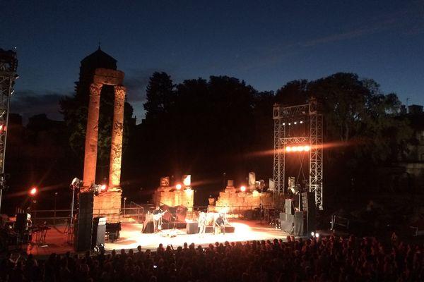 Concert au théâtre antique