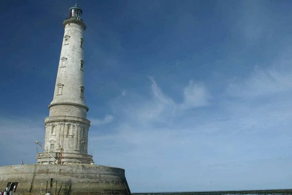 Le phare de Cordouan à marée basse