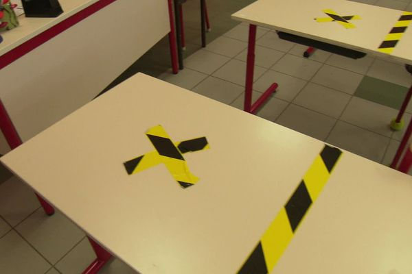 Pour limiter la pandémie, l'école élémentaire de Baillargues a prévu de supprimer une place sur deux.