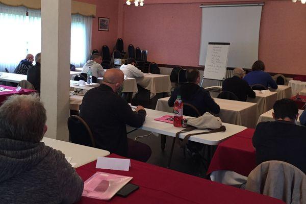 Le stage mensuel de récupération de points organisé par l'Automobile Club Limousin se déroule désormais dans une salle adaptée.