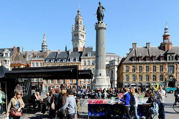 Lille a été élue capitale de la future région Nord-Pas-de-Calais/Picardie.