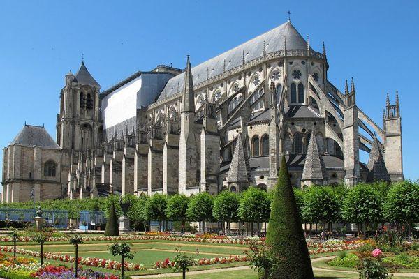 Cathédrale de Bourges dans le Cher