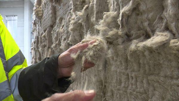 De la fibre de lin fabriquée principalement pour un usage textile