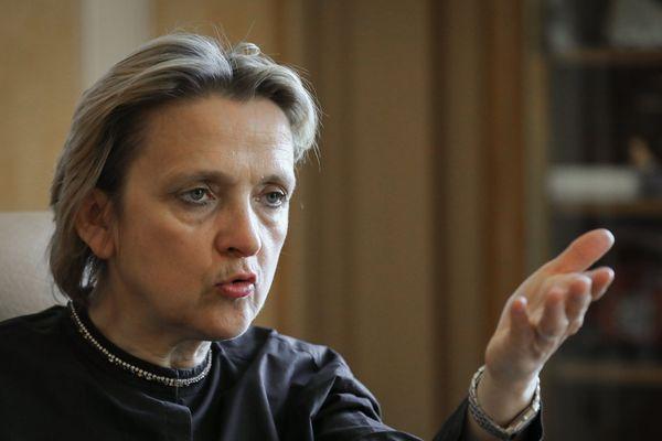 Florence Berthout, présidente du groupe Les Républicains au conseil de Paris.