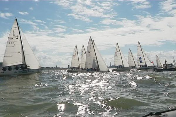 Le Havre a accueilli les épreuves de voile des Gay Games 2018.