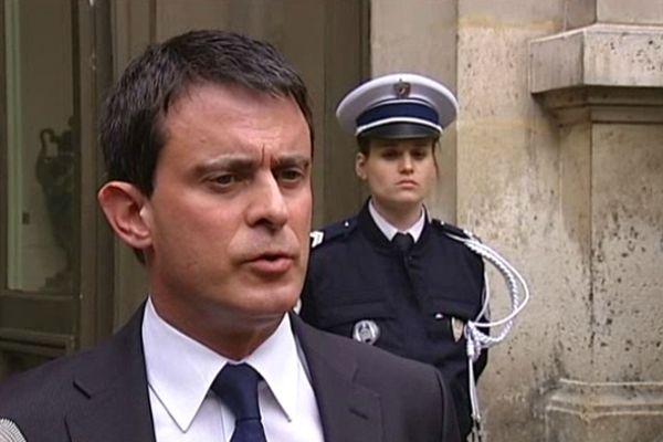 Manuel Valls le 10 mai 2013 à Paris
