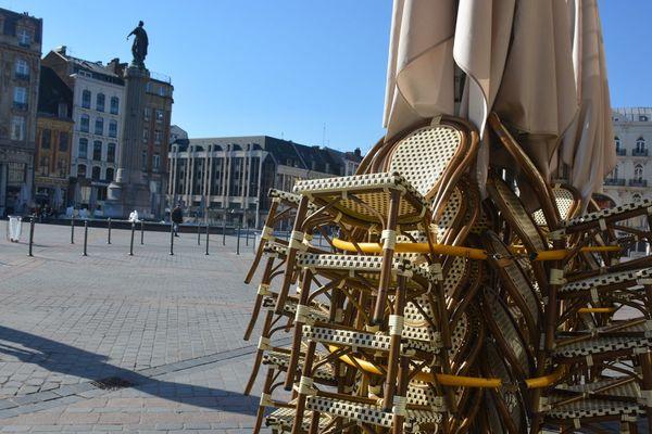 Sur la Grand'Place de Lille