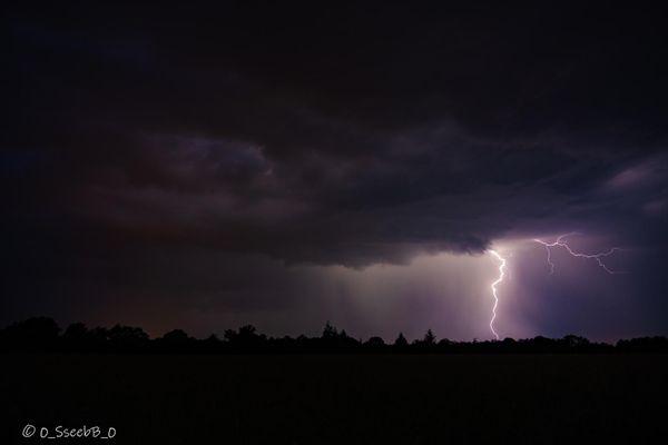 Orage en Limousin, le 19.06.2021