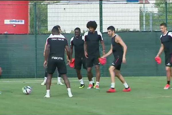 L'entraînement reprend à l'OGC Nice.