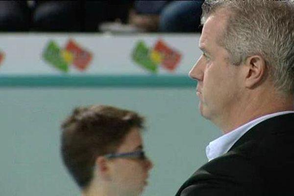 Vital Heynen, entraîneur du Tours Volley Ball