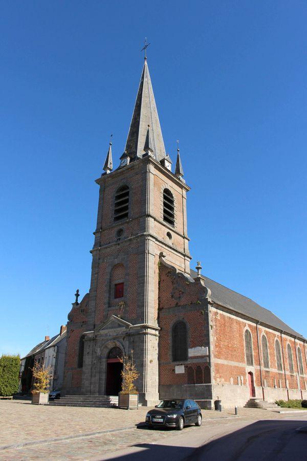 L'église Saint-Humbert à Maroilles