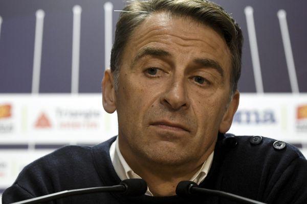 Le président du TFC, Olivier Sadran.