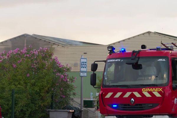 Une cinquantaine de pompiers a été envoyée sur place