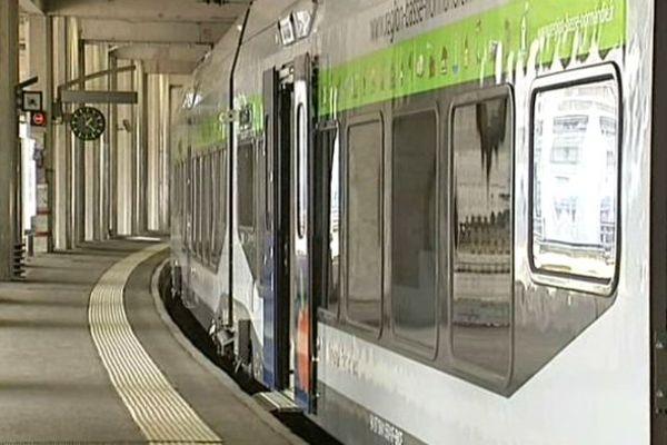 Les nouveaux TER, trop larges pour un grand nombre de quais en France sont un exemple concret des problèmes et du manque de communication entre RFF et la SNCF, selon les syndicats de cheminots qui ont appelé à la manifestation jeudi.