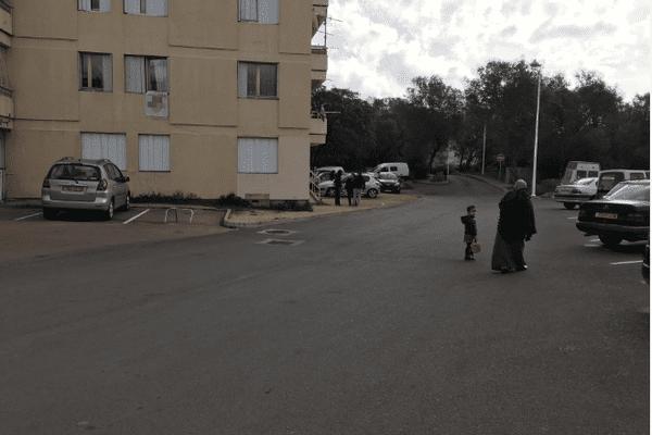 Des opérations de contrôle ont été menées vendredi 5 février dans le quartier de Pifano à Porto-Vecchio (Corse-du-Sud)
