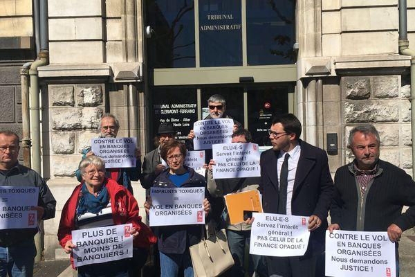 Le tribunal administratif de Clermont-Ferrand s'est penché mercredi 14 mai sur un recours déposé par trois citoyens originaires de la communauté d'agglomération de Vichy Val d'Allier et membres de l'association Attac (Association pour la taxation des transactions financières et pour l'action citoyenne).