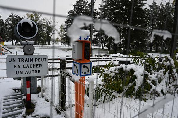 Plusieurs lignes TER sont interrompues au départ de Grenoble à cause de la neige.