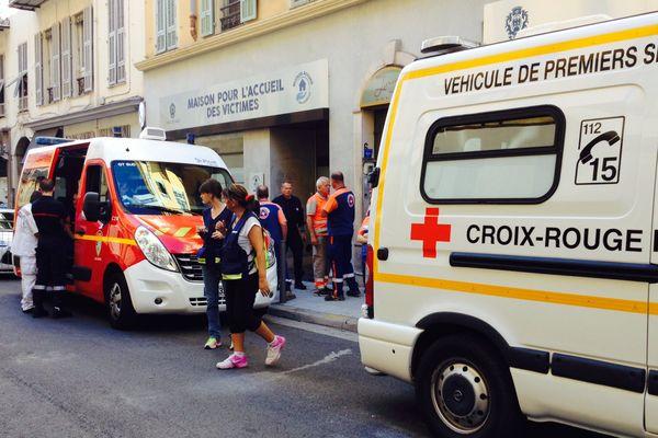 La Centre d'accueil des familles piloté par la cellule interministérielle d'aide aux victimes, à Nice.