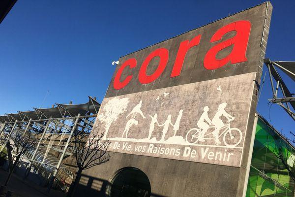 L'hypermarché Cora Houdemont, près de Nancy.