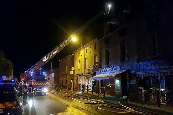 25 pompiers ont été mobilisés sur cette intervention.