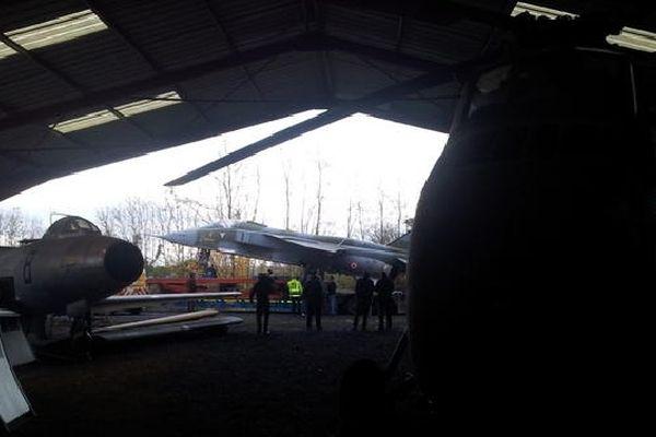 Le Jaguar rejoint la collection du musée de l'épopée et de l'industrie aéronautique d'Albert (80)