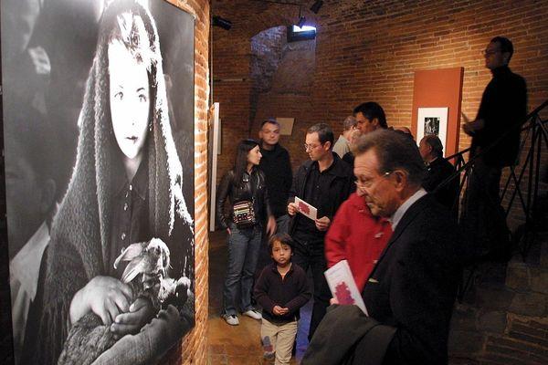 Exposition Jean Dieuzaide à la Galerie du Château d'Eau à Toulouse en octobre 2003