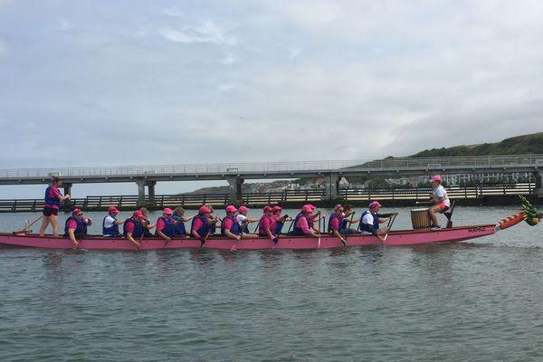 les dragon-ladies sur la Liane à Boulogne-sur-Mer