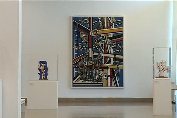 Les Constructeurs de Fernand Léger, à Biot