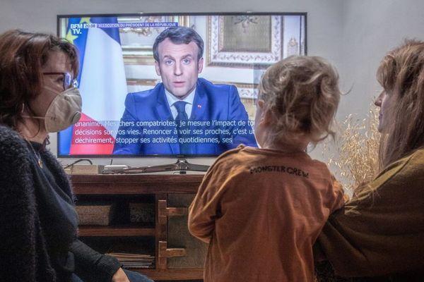 Emmanuel Macron s'était déjà adressé aux Français le 16 mars pour annoncer le confinement face à la crise sanitaire du coronavirus.