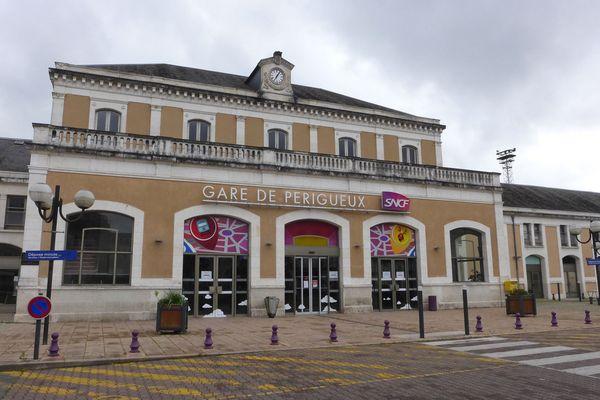La gare de Périgueux.