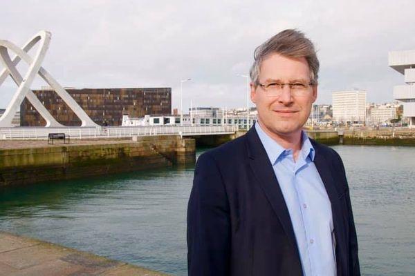 """Guillaume Milert, tête de liste """"Vivons Le Havre"""""""