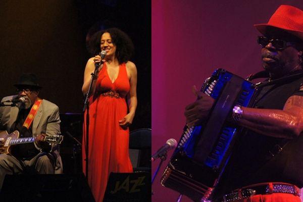 Heritage Blues Orchestra et C.J Chenier étaient en concert mardi soir à la salle Marcel Hélie