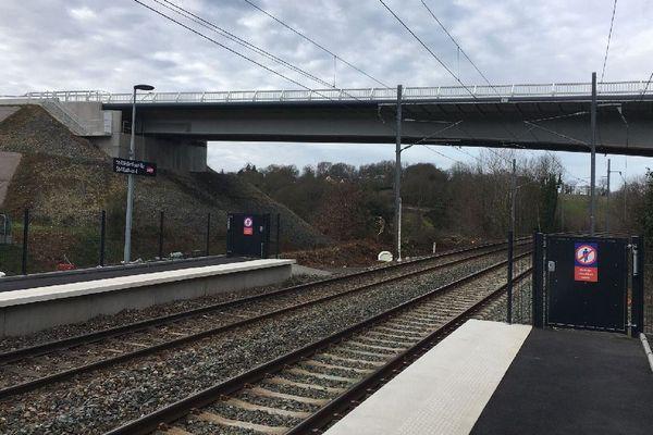 Le viaduc de Saint-Médard-sur-Ille, mis en service au mois de décembre 2019