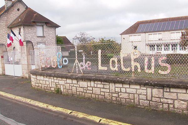L'école primaire Abel Thévenet à Lathus
