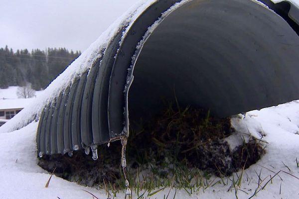 Voici l'un des drains qui pourrait être utilisé