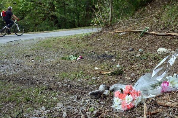 C'est ici qu'un cycliste a découvert les 4 victimes et une fillette gravement blessée.
