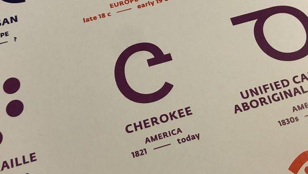 Le signe le plus emblématique de l'alphabet Cherokee.
