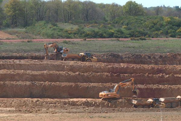 Terreal exploite le sous-sol local pour approvisionner son usine de Roumazières-Loubert (Charente).