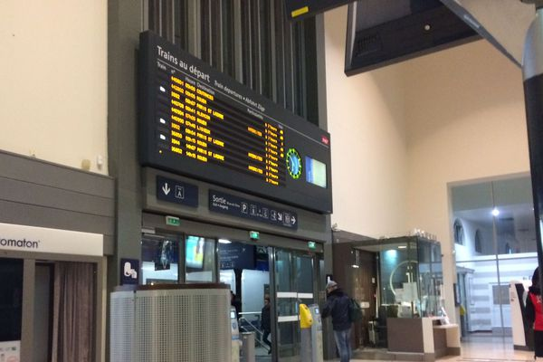 Aucun TER en Normandie pour la première journée de grève SNCF