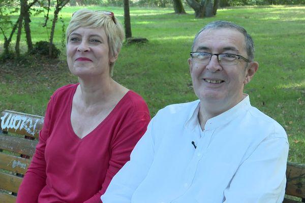 Après quatre ans de dialyses trois fois par semaine, Jean-François Dessort a pu être greffé d'un rein de sa femme, Andréa Kiss.
