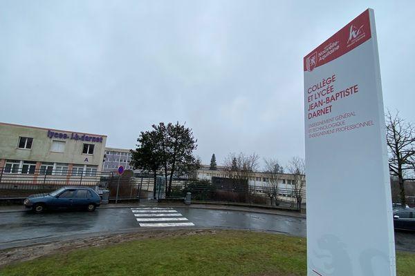 Cité scolaire Darnet de Saint-Yrieix-la-Perche (Haute-Vienne)