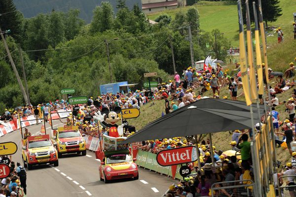 Souvenir... le Tour de france 2017 dans le Jura, avec une arrivée aux Rousses.