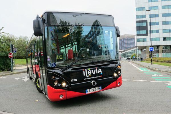 Un bus Ilévia