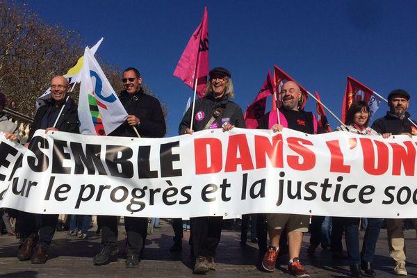 Ils étaient quelques centaines à déambuler sur la promenade du Peyrou à Montpellier jeudi 16 novembre 2017