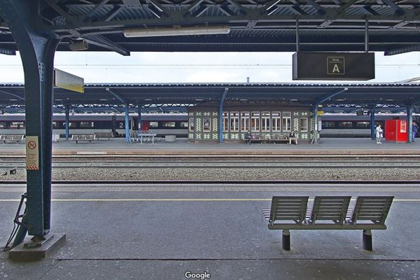 La gare de Colmar