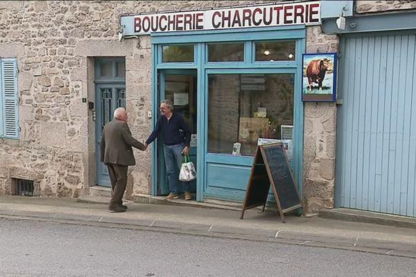 La boucherie-charcuterie de Cieux a été reprise il y a 16 ans, mais depuis les repreneurs se font rares.